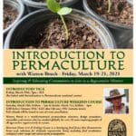 Introduction to Permaculture Early Bird Registration