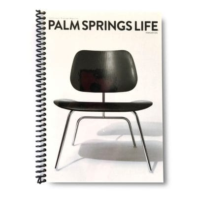 Palm Springs Life Lined Notebook – February 2016