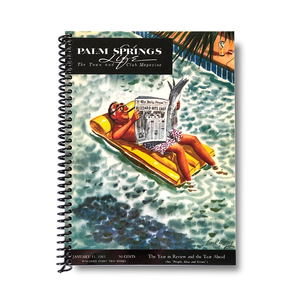 Palm Springs Life Lined Notebook – January 11 1661