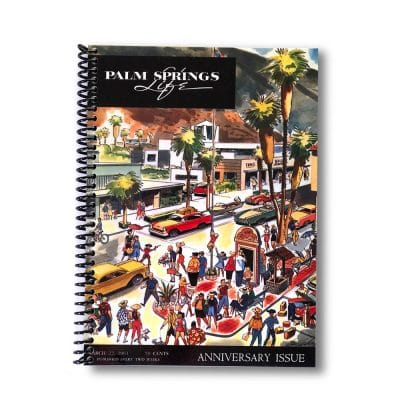 Palm Springs Life Lined Notebook – March 1961