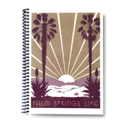 Palm Springs Life Lined Notebook – 1938