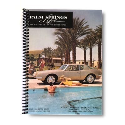 Palm Springs Life Lined Notebook – June 1962