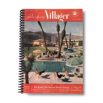 Palm Springs Villager Lined Notebook – March 1957