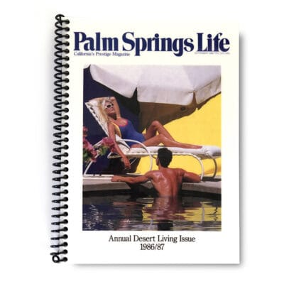 Palm Springs Life Lined Notebook – September 1986