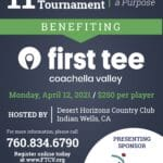 """""""Playing for a Purpose"""" 11th Annual Invitational Golf Tournament at Desert Horizons Country Club in Palm Desert"""