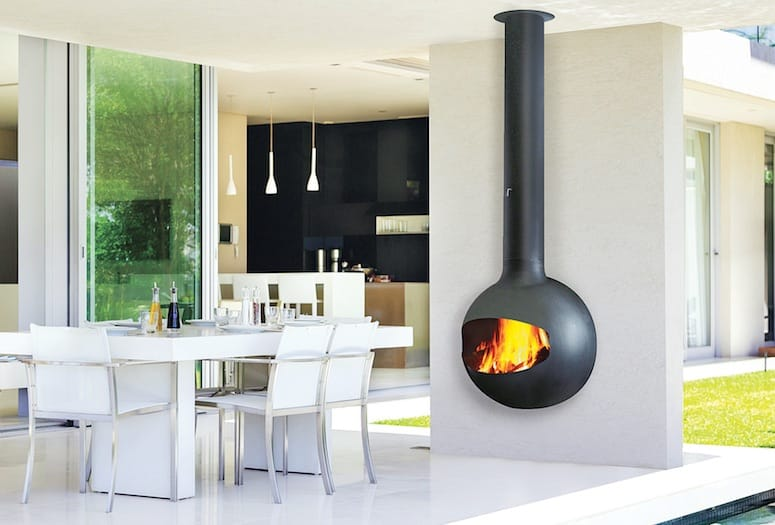 emifocus open outdoor fireplace