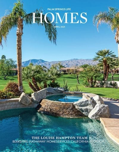 Palm Springs Life HOMES April 2021