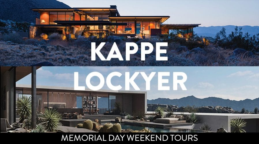 Raymond Kappe and Sean Lockyer Two Homes Tours