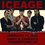 Iceage Performs at Pappy and Harriet's in Pioneertown