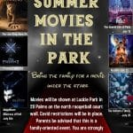 City of Twentynine Palms Presents Summer Movies in the Park at Luckie Park