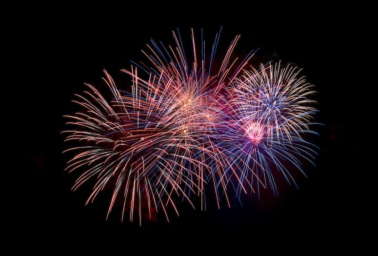 4th of july fireworks near me