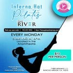 Join Inferno Hot Pilates at The River in Rancho Mirage