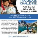 2021 Make-A-Wish Trailblaze Challenge at Pacific Crest Trail - Big Bear Lake, CA