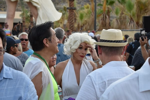 """Forever Marilyn"" Makes Her Return to Palm Springs"