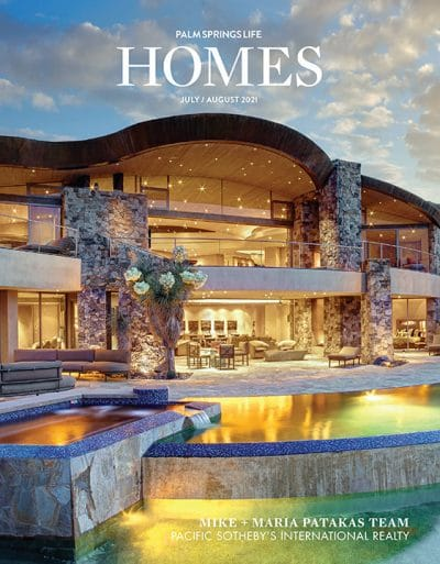 Palm Springs Life HOMES July-August 2021