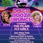 Disco Boozy Brunch at PS Air Inside Bouschet in Palm Springs