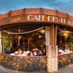 Cafe Des Beaux-Arts Now Open for the 2021 - 2022 Dining Season on El Paseo in Palm Desert