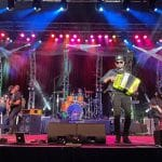 Los Garza'z Performance at the Sideline Stage at Morongo Casino Resort Spa in Cabazon