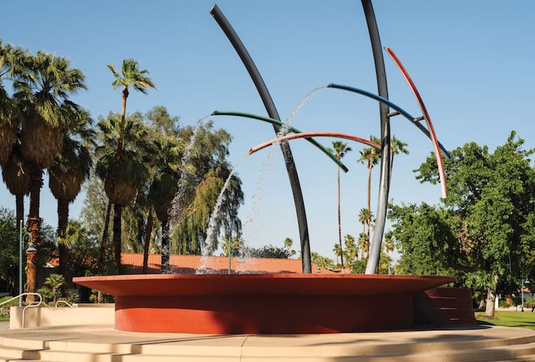 rainmaker fountain palm springs california