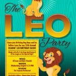 13th Annual Roarin' Leo Birthday Bash at The Leo Party at the Tropicale Restaurant