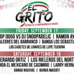 El Grito Music Festival Celebrates Mexican Independence Day at Coachella Crossroads