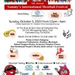 """""""9th Annual Sammy's International Meatball Festival"""" at The Boys & Girls Club of Cathedral City"""