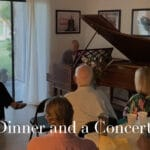 UCLA Rising Stars of Classical Piano Salon Concert and Dinner at Palm Springs Piano Society in Cathedral City