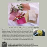 Natural Dyeing Workshop with Emily Endod at Harrison House Music, Arts, Ecolology in Joshua Tree