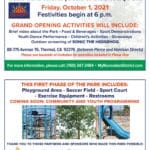 Grand Opening of Phaze One of Oasis of the Desert Park in Thermal