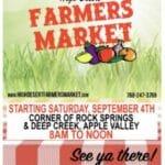 Thursdays & Saturdays High Desert Farmer's Market