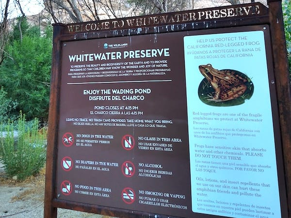 Discovering Whitewater Preserve