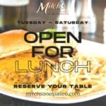 Mitch's on El Paseo in Palm Desert is Now Open for the Season 2021-2022