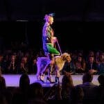 Fashion Week El Paseo LE CHIEN WITH A TWIST at The Gardens on El Paseo in Palm Desert
