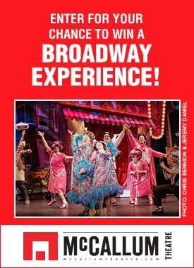 McCallum Theatre Broadway Experience