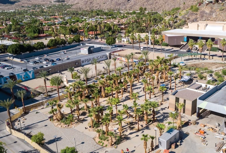 downtown palm springs park